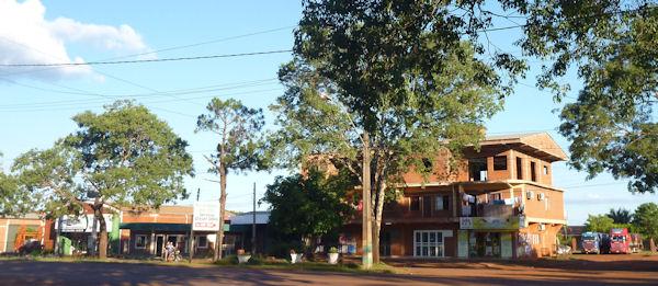 Unfertiges Haus in Paraguay