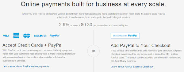 Paypal USA Business