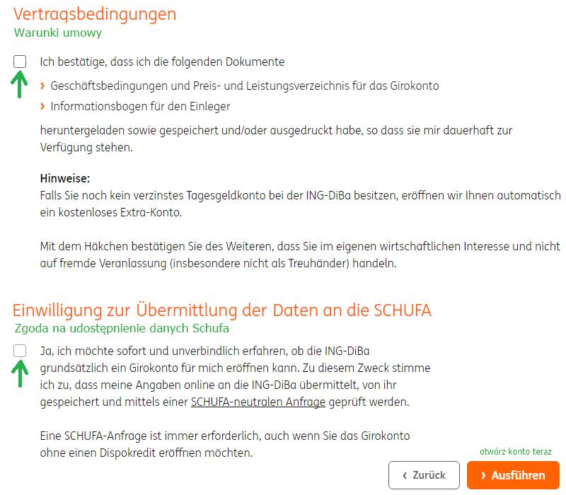 Online-Kontoeröffnung bei der ING-DiBa