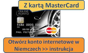 Otwórz konto internetowe w Niemczech >> instrukcja
