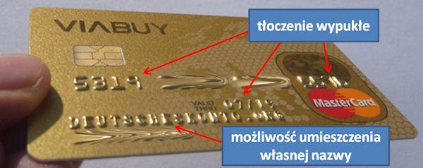 Viabuy Kreditkarte mit individuellem Namen