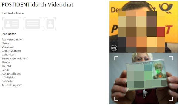 PostIdent VideoIdent