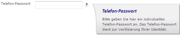 Telefon-Passwort bei der Rabobank festlegen