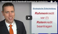 Rahmenkredit strategisch