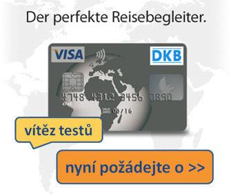 požádat o bezplatnou DKB účet s kreditní kartou