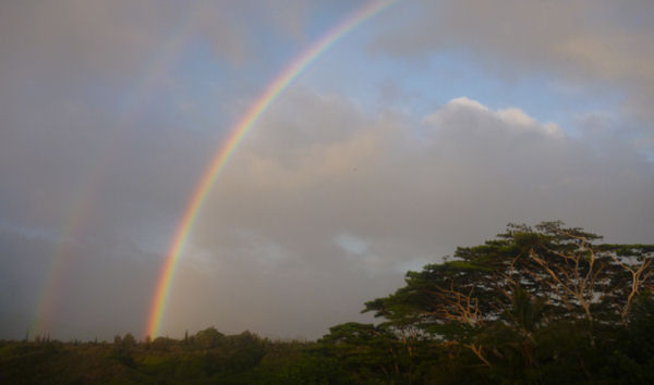 Regenbogen auf Kauai