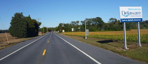 Delaware-Schild