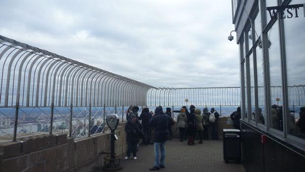 Aussichtsplattform vom Empire State Building