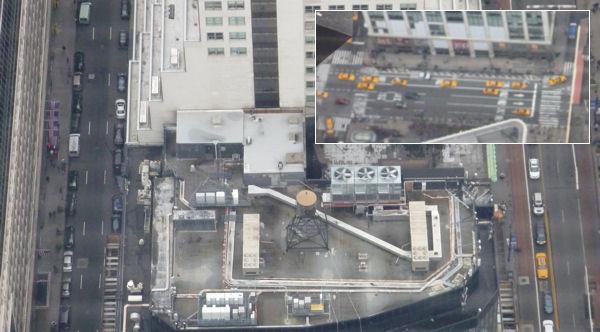 Blick vom Empire State Building nach unten