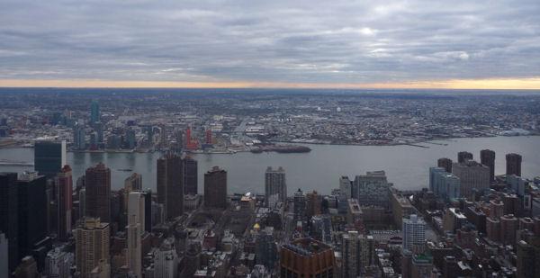 Empire State Building und Brooklyn