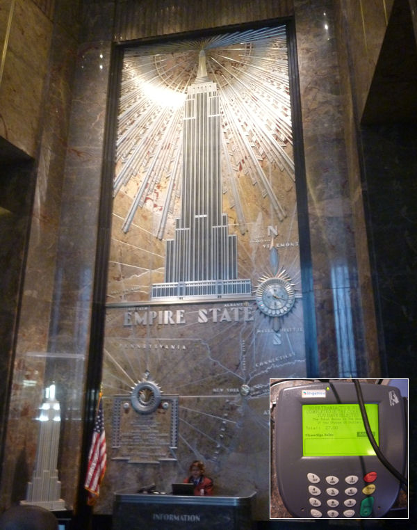 Empire State Building: Eingangshalle