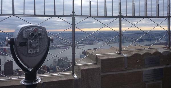 Aussicht vom Empire State Building Richtung Brooklyn