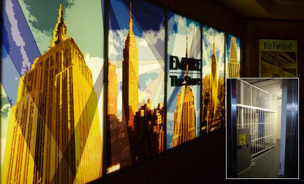 Treppenhaus im Empire State Building