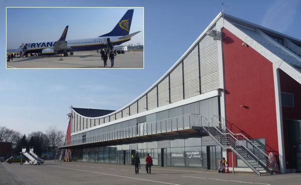 Flughafen Memmingen und Ryanair