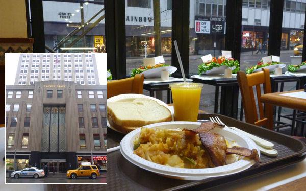 Frühstück beim Empire State Building