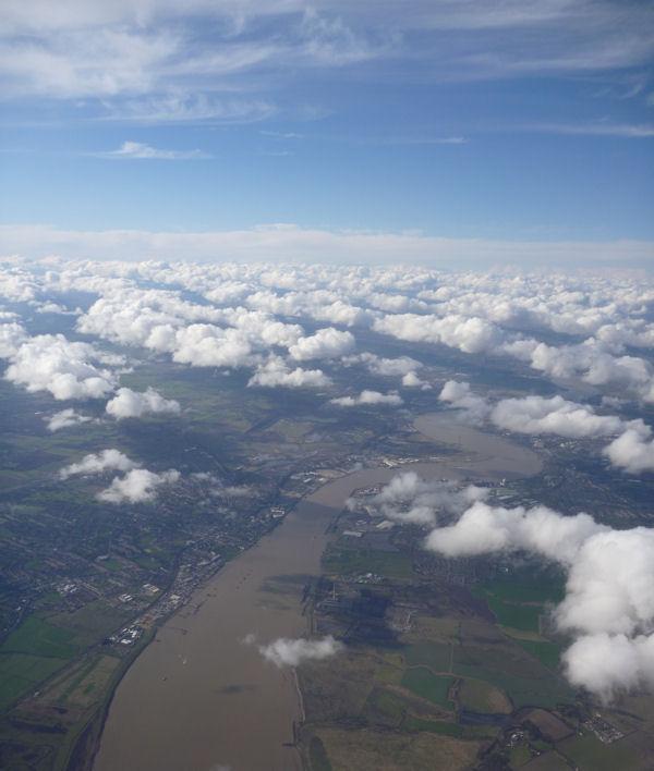Himmel über England