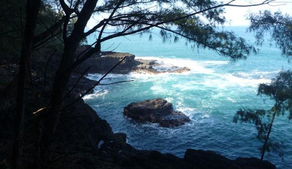 Gefährlich-romantische Küste von Kauai