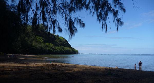 Nordstrand auf Kauai