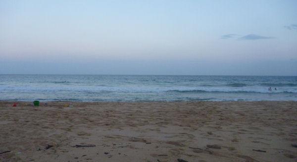Kein Sonnenuntergang auf Kauai im Osten