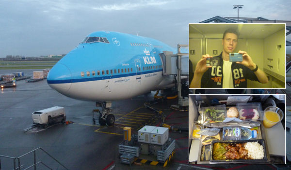 KLM-Flug nach Los Angeles
