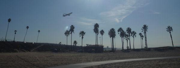 Ende der Landebahn des LAX