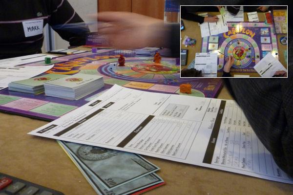 Lernspiel Cashflow in London