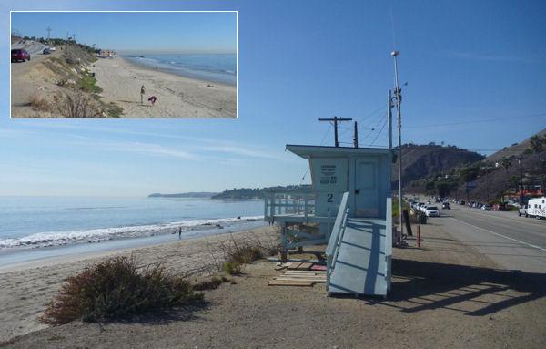 Pazifikküste bei Los Angeles