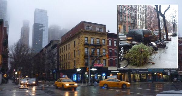 Manhattan, 47. Straße im Januar