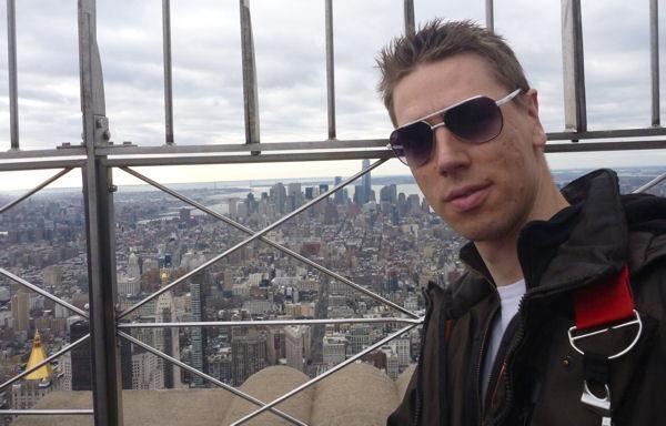 Gregor in New York