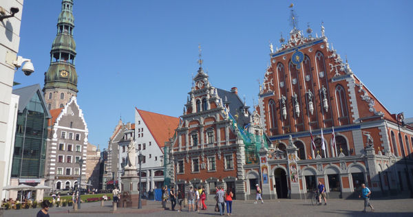 Marktplatz Riga