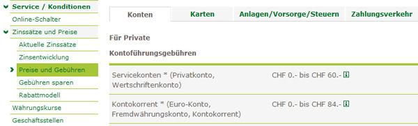 Preise der Thurgauer Kantonalbank