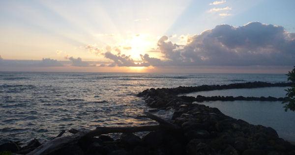 Sonnenaufgang, Kauai