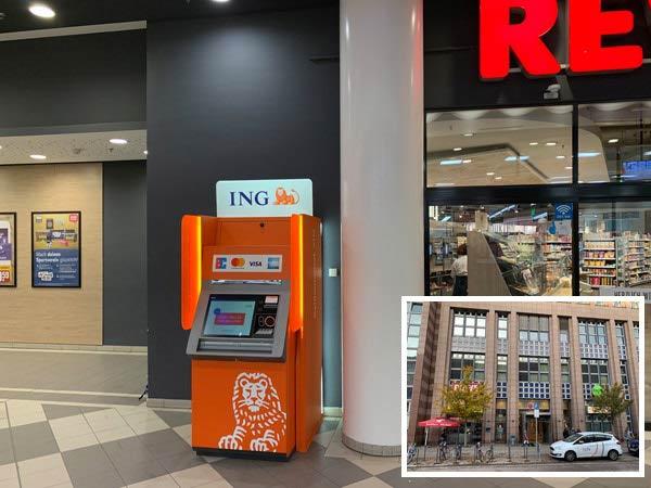 ING Automat München Hopfenpost