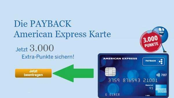 American Express Payback card order 1