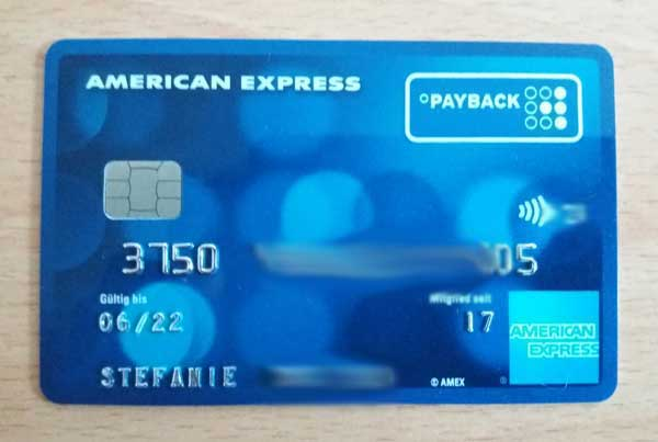 Amex Payback Card