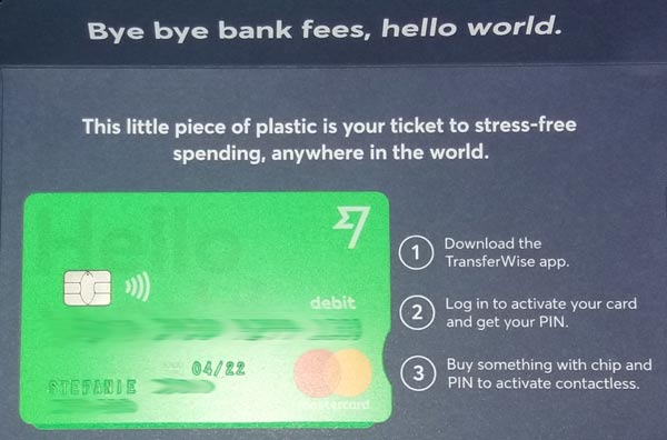 Transferwise Borderless Account beantragen 17