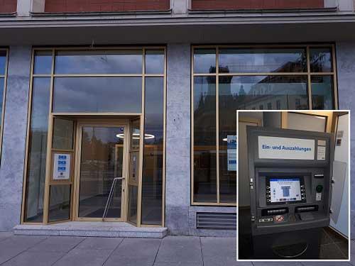 DKB Einzahlungs-Automat Dresden