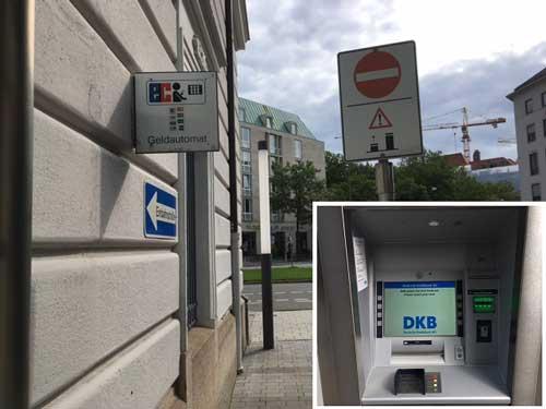 DKB Auszahlungs-Automat München