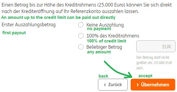 framework credit outpayment