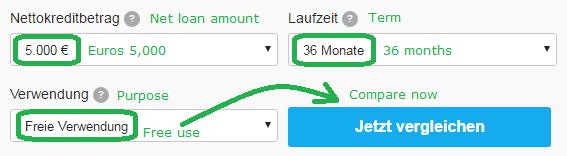 loan 5000 Euro