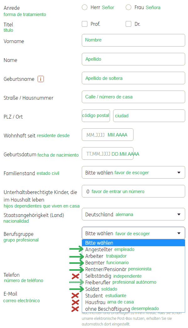 solicitud línea de crédito – 3
