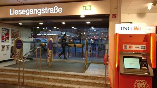 ING Automat Düsseldorf