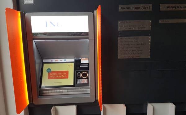 ING Automat Frankfurt