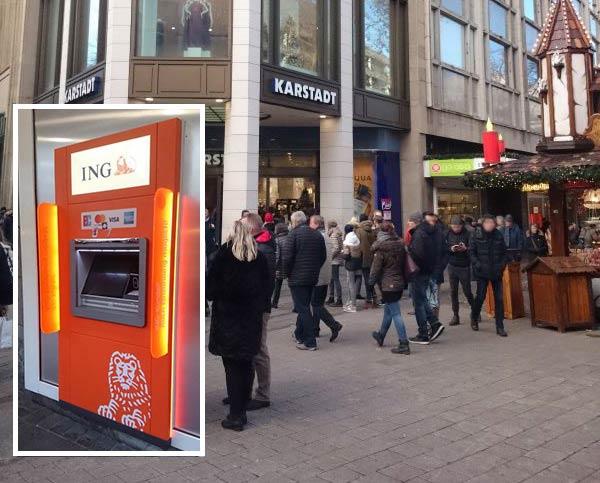 ING Automat Hamburg City