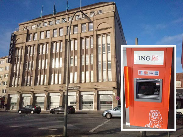 ING Automat Hamburg Wandsbek