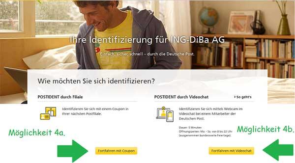 Kontoeröffnung bei der ING-DiBa Teil 3
