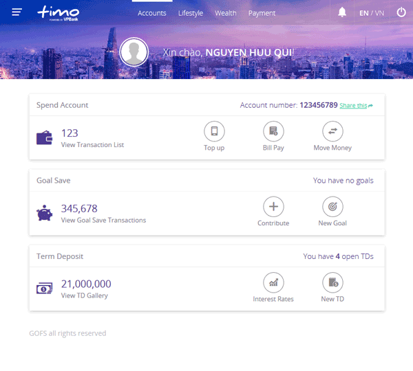 Timo Online-banking