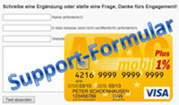 Support zur ADAC Prepaid Card