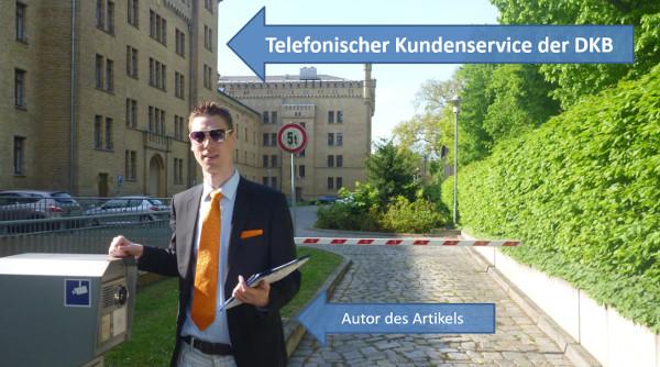 Telefonischer Kundenservice der DKB