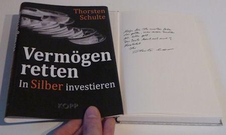 Buch von Thorsten Schulte mit Autogramm
